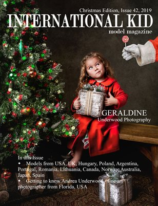 International Kid Model Magazine Issue #42 Xmas Edition