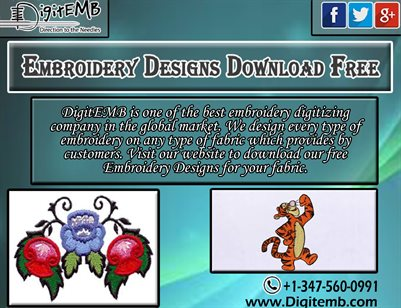 Embroidery Designs Download Free