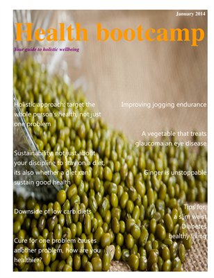 Health bootcamp magazine