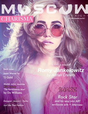 Moscow tonight magazine / December 2020 / Vol 2/ Charisma