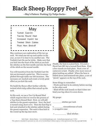 Pushing Up Tulips Socks