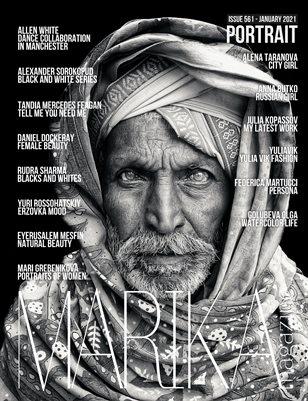 MARIKA MAGAZINE PORTRAIT (ISSUE 561 - January)