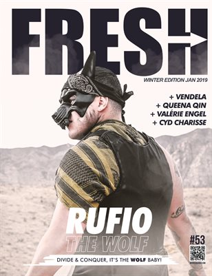 RUFIO THE WOLF  Fresh edition (La rétrospective)