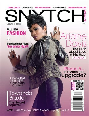 2012 SNYTCH FALL ISSUE