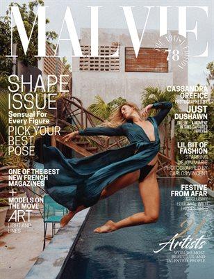 MALVIE Mag The Artist Edition Vol 78 December 2020