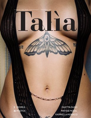 Talìa Magazine | Issue 01