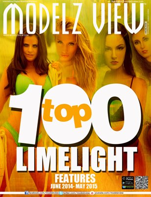 TOP 100 LIMELIGHT MODELS - MODELZ VIEW SPECIAL EDITION