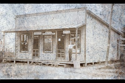 Will Cox first store, Stanley, Daviess County, Kentucky