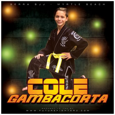 Cole Gambacorta 8x8 Comp Card