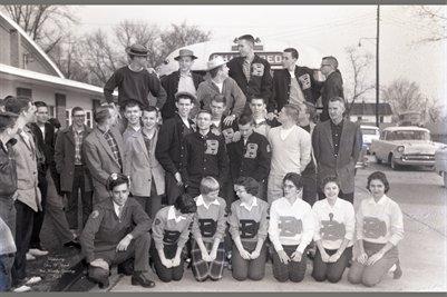 1958 Benton Indians go to State