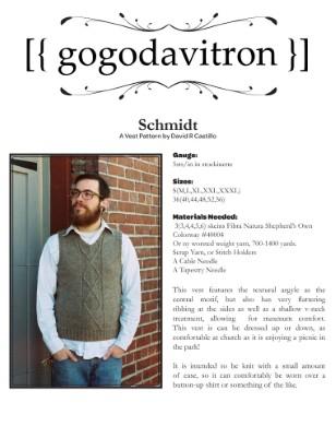 Schmidt - A Vest for Men