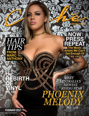 Cliché Magazine - Feb/Mar 2017 (Phoenix Melody Cover)