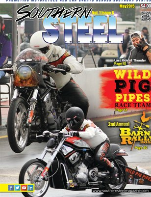 Southern Steel Motorcycle & Car Magazine May 2015