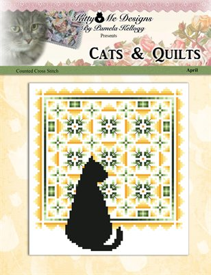 Cats And Quilts April