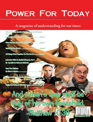 Power For Today Magazine, November 2010