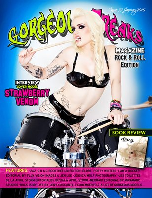 Issue 37 Rock & Roll Edition Cover Model: Strawberry Venom