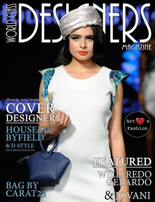 World Class Designers Magazine wtih House of Byfield