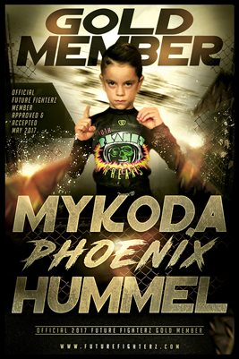 Mykoda Gold Membership/Diploma Poster