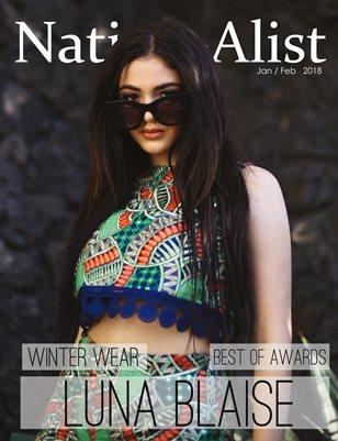 Nation A-list Magazine Jan / Feb 2018 Issue