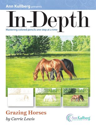 In-Depth - Grazing Horses