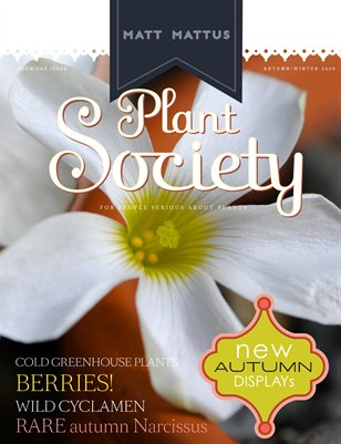 Plant Society, Issue 2