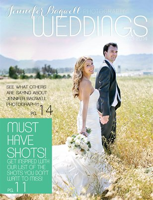 Wedding Magazine by Jennifer Bagwell
