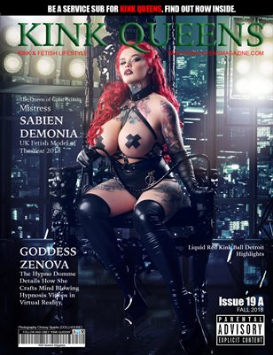 KINK QUEENS MAGAZINE | ISSUE 19 A | FALL 2018