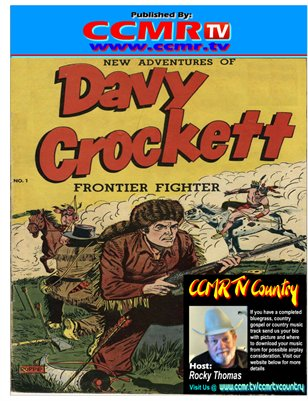 Davy Crockett in Indian Attack