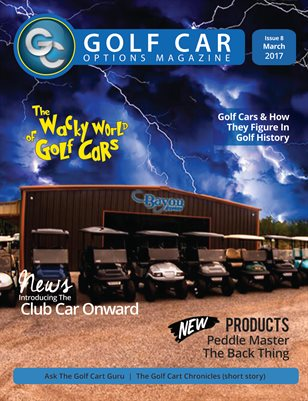 Golf Car Options Magazine - March 2017
