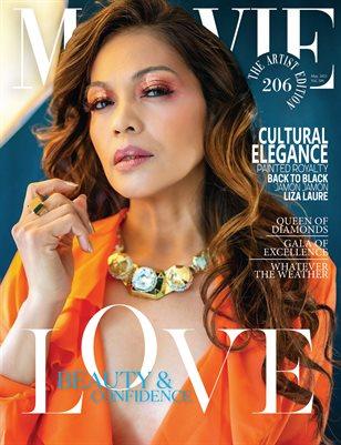 MALVIE Magazine The Artist Edition Vol 206 May 2021