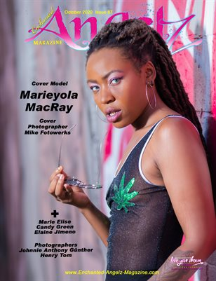 ENCHANTED ANGELZ MAGAZINE - Cover Model Marieyola MacRay - October 2020