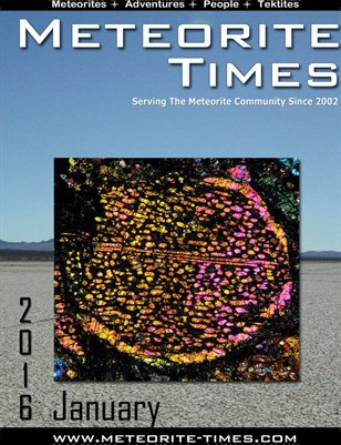 Meteorite Times Magazine - January 2016 Issue