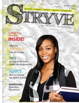 STRYVE Magazine, Volume 2, Issue 1
