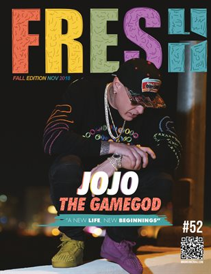 Jojo The Gamegod Fresh Mr Dreamz magazine