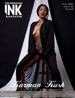 TDM: INK Karman Kush Issue 44 cover 3 June 2021