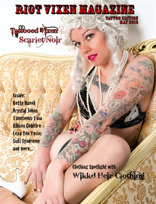 Riot Vixen Magazine Tattoo Special Edition