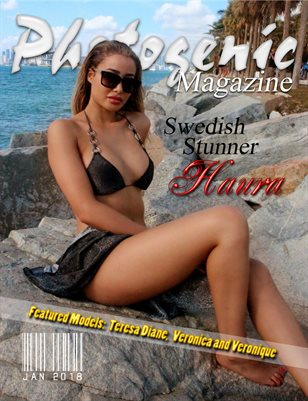 photogenic magazine Featuring Houda