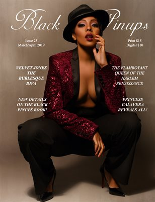 Black Pinups Issue 25