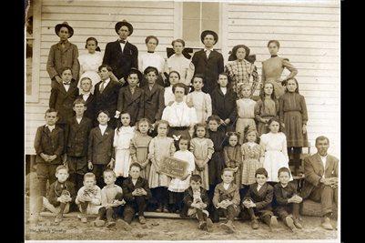 1909 ALMO, CALLOWAY COUNTY, KENTUCKY SCHOOL