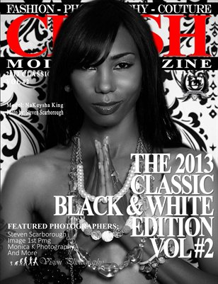 CRUSH Model Magazine 2013 Classic Black & White Edition Vol #2