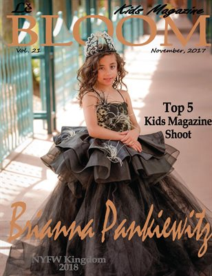Le Bloom Kids Magazine Brianna Pankiewitz