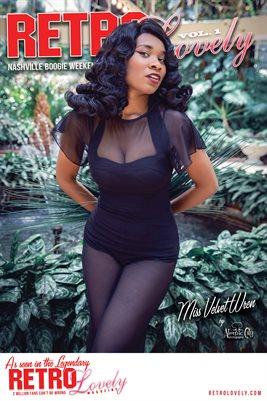 Miss Velvet Wren Cover Poster