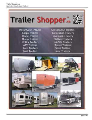 Trailer Shopper Magazine ® Canada