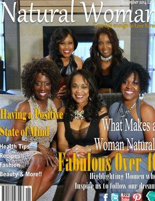 Natural Woman Magazine:  Fabulous Over 40