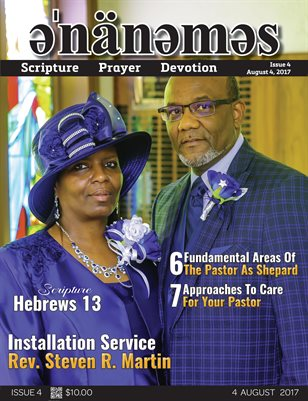 Issue 4 - Rev. Steve Martin Installation Service
