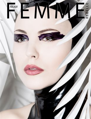 Femme Rebelle Magazine FEBRUARY 2020 -  Jose Casquet Cover