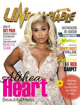 Untouchable Magazine issue 9- How to get paid without actually receiving cash starring Althea Heart