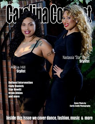 Carolina Connect Art Issue Stylist Cover