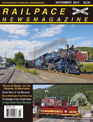 NOVEMBER 2014 Railpace Newsmagazine