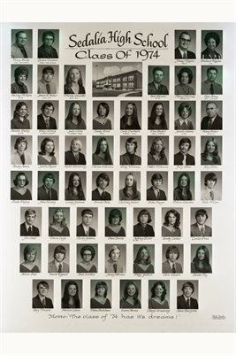 Class of 1974, Sedalia High School, Graves County, Kentucky
